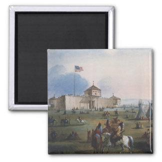 Fuerte Laramie, fuerte de Sublette, Fort William, Imán Cuadrado