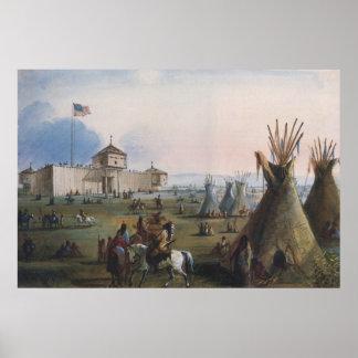 Fuerte Laramie, fuerte de Sublette, Fort William, Póster