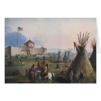 Fuerte Laramie, fuerte de Sublette, Fort William, Tarjeta De Felicitación