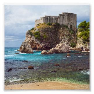 Fuerte Lovrijenac en Dubrovnik Fotografía