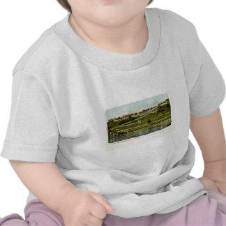 Fuerte Mackinac del vintage del puerto Camiseta