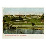 Fuerte Mackinac del vintage del puerto Tarjetas Postales
