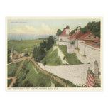 Fuerte Mackinac, isla Michigan del vintage de Mack Tarjetas Postales