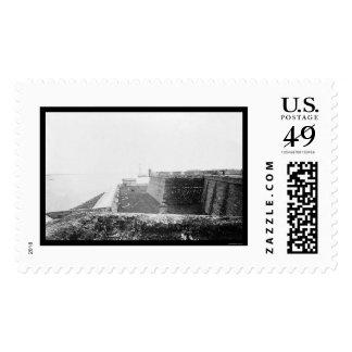Fuerte Marion en St Augustine, FL 1864 Timbres Postales