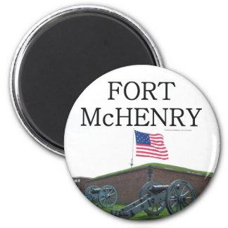 Fuerte McHenry de ABH Imán Redondo 5 Cm