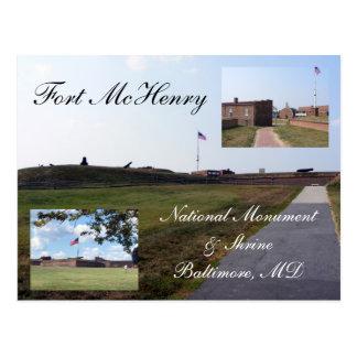 Fuerte McHenry Tarjetas Postales