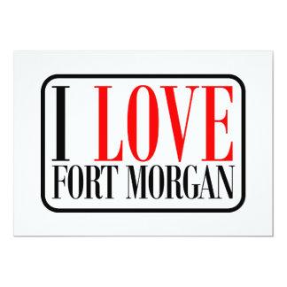 """Fuerte Morgan Alabama Invitación 5"""" X 7"""""""