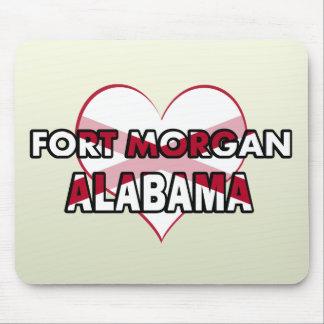 Fuerte Morgan, Alabama Alfombrillas De Ratón