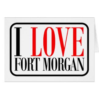Fuerte Morgan Alabama Tarjeta De Felicitación