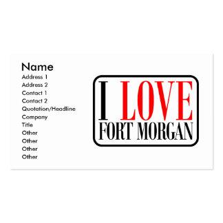 Fuerte Morgan Alabama Tarjetas De Visita