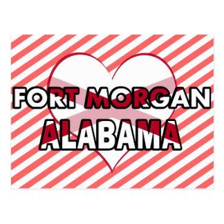 Fuerte Morgan, Alabama Postales