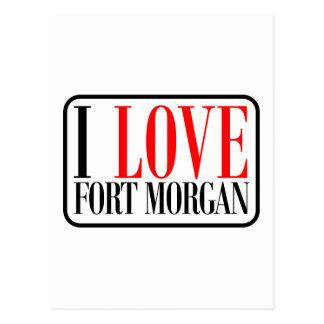 Fuerte Morgan Alabama Tarjetas Postales