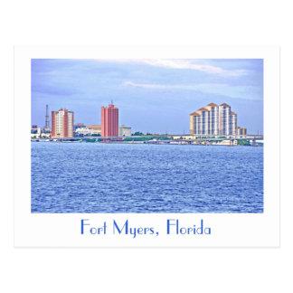 Fuerte Myers, la Florida, los E.E.U.U. Tarjeta Postal