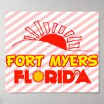 Fuerte Myers, la Florida Poster