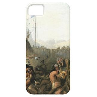 Fuerte Pedro de Karl Bodmer- iPhone 5 Carcasas