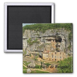 Fuerte Reignac-Maison - Imán Cuadrado