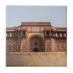 Fuerte rojo Agra la India de Jahangiri Mahal Azulejo