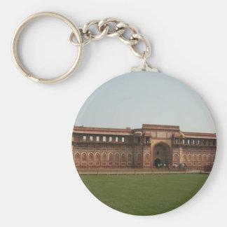 Fuerte rojo Agra la India de Jahangiri Mahal Llavero Personalizado