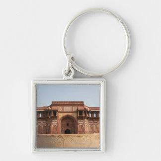 Fuerte rojo Agra la India de Jahangiri Mahal Llavero