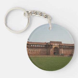 Fuerte rojo Agra la India de Jahangiri Mahal Llaveros