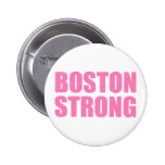 Fuerte rosado de Boston Pin Redondo De 2 Pulgadas