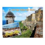 Fuerte San Felipe del Morro, Puerto Rico Postales