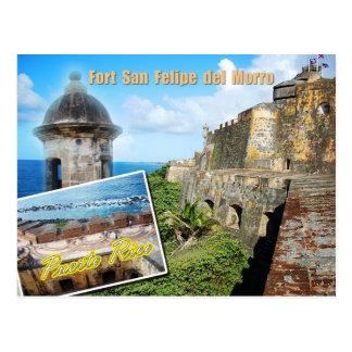 Fuerte San Felipe del Morro, Puerto Rico Tarjetas Postales