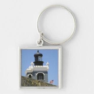 Fuerte San Felipe del Morro's grey castellated Keychain