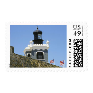 Fuerte San Felipe del Morro's grey castellated Postage Stamp