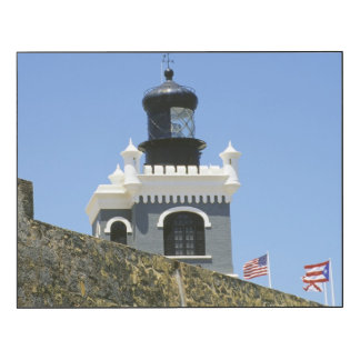 Fuerte San Felipe del Morro's grey castellated Wood Wall Art