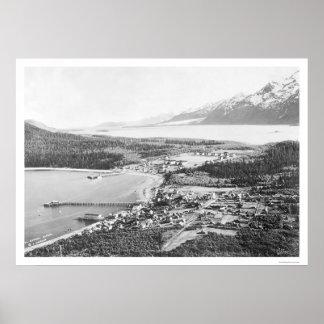 Fuerte Seward 1912 de Haines Alaska Póster