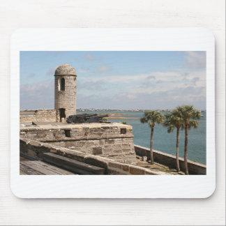 Fuerte, St Augustine, la Florida, los E.E.U.U. Tapete De Ratones