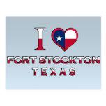 Fuerte Stockton, Tejas Tarjeta Postal