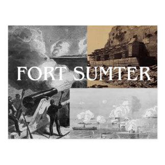 Fuerte Sumter de ABH Postal