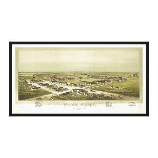 Fuerte territorio de Reno, Oklahoma (1891) Lienzo Envuelto Para Galerías
