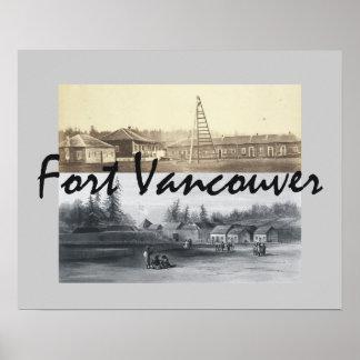 Fuerte Vancouver de ABH Póster
