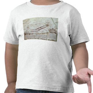 Fuerte viejo Gaut, Calcutta, 1810 (litho) Camisetas