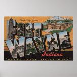 Fuerte Wayne, Indiana - escenas grandes 3 de la le Posters