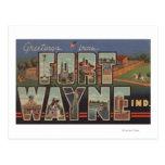 Fuerte Wayne, Indiana - escenas grandes 3 de la Postal