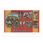 Fuerte Wayne, Indiana - escenas grandes de la Tarjetas Postales