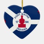 Fuerte Wayne, Indiana, Estados Unidos señala por m Adorno