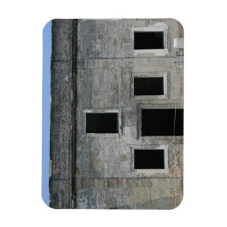 Fuerte Windows de St Augustine Imán Flexible
