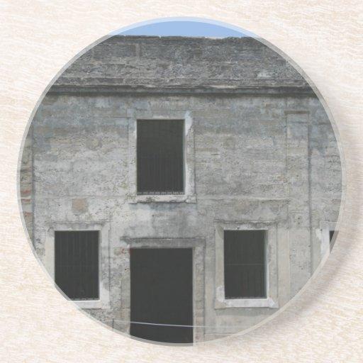Fuerte Windows de St Augustine Posavasos Personalizados