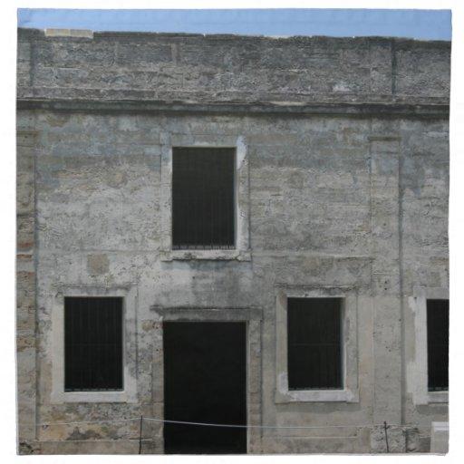 Fuerte Windows de St Augustine Servilleta De Papel