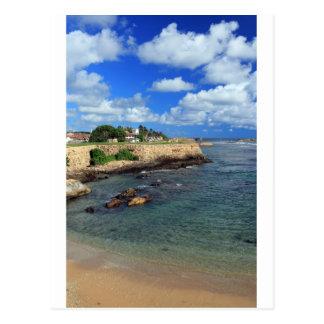 Fuerte y el Océano Índico Sri Lanka de Galle Postal