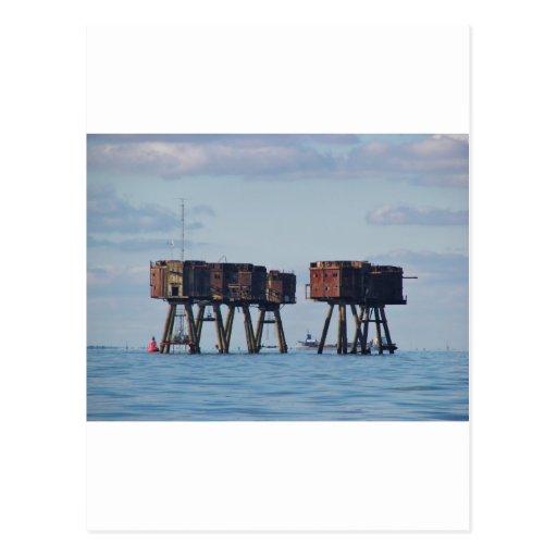 Fuertes en el estuario de Thames Postal