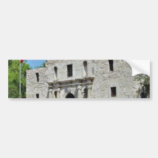Fuertes Tejas de Álamo San Antonio Etiqueta De Parachoque