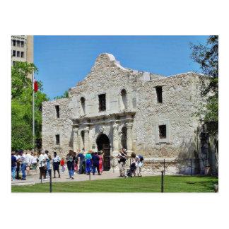 Fuertes Tejas de Álamo San Antonio Postal