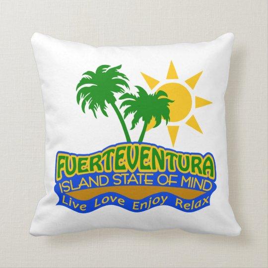 Fuerteventura Island State of Mind pillow