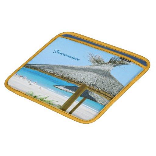 Fuerteventura Laptop Sleeve iPad Sleeve